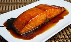 Crock Pot Maple Salmon is so EASY and makes great leftovers too! www.getcrocked.com