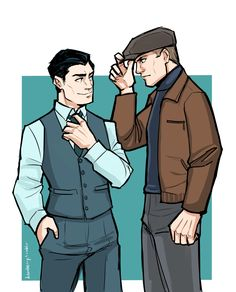 I've watched The Man From U.N.C.L.E. an unhealthy number of times the past week or so… So I needed to draw more fanart. XD