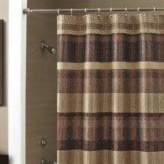 Croscill® Portland 70 Inch X 72 Inch Shower Curtain In Bronze