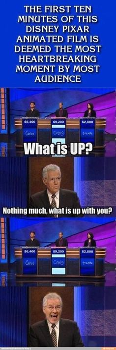 Haha, Alex! Is that really a question on Jeopardy? Or did someone make this up? Either way I love this