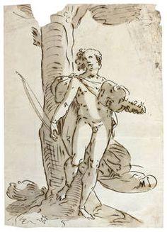 """""""Apolo"""", Anónimo (Seguidor de Cambiaso, Luca), S.XVI"""
