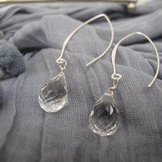 Silver with crystal quartz