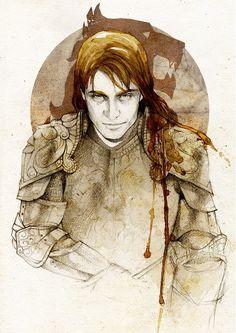 Jaime Lannister, by Elia Mervi