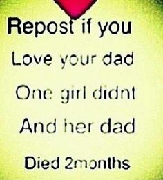 I love my dad so much! (Btw I'm not pinning this cuz I think that girl not pinning it had anything to do with her dad passing, I'm pinning it cuz I love my daddy <<< my dad is the best, especially his hugs, ugh, I love him so much! I Love My Dad, Just Do It, Love Him, Just In Case, Daddy, Totally Me, Describe Me, Faith In Humanity, Teenager Posts