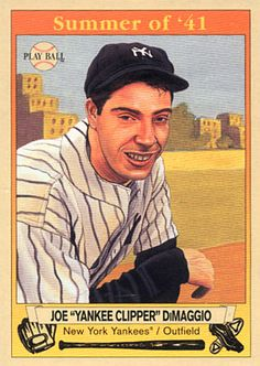 Hall of Famer Joe DiMaggio has always been an intriguing figure to me. From my early recollections of his being the spokesperson of Mr. Frankie Knuckles, Joe Dimaggio, Better Baseball, The Championship, New York Yankees, Dodgers, Baseball Cards, Sports, Postage Stamps
