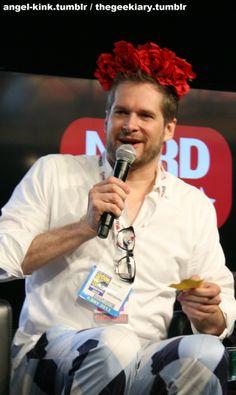 Bryan Fuller at the Nerd HQ Hannibal Panel at Comic Con 2013