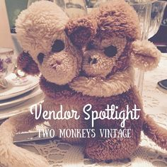 Two Monkeys Vintage is our vendor spotlight this month! They have awesome vintage items (seriously you could spend days in there) so check them out for the big day! Link in profile. @twomonkeysvintage #wedding #weddingdecor #weddingvendor #viwevents