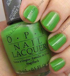 Opi - Green-wich Village (can you tell I like green nail polishes yet?)