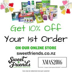 Sweetens and Protects - Sugar Free, Sweeteners, Xylitol, Health, Nutrition, Dental, Oral, Nasal Care - Sweet Friends - 0800 289 777