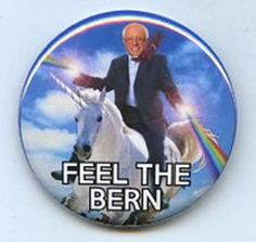 Hey, I found this really awesome Etsy listing at https://www.etsy.com/listing/241089669/bernie-sanders-feel-the-bern-unicorn