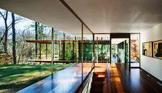 Glass/Wood House, New Canaan, Connecticut, by Kengo Kuma and Associates | http://www.designrulz.com/architecture/2012/11/glasswood-house-new-canaan-connecticut-by-kengo-kuma-associates/