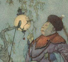 La reine des neiges et quelques autres contes / Hans Christian Andersen ; [traduits du danois par L. Moland] ; illustrés par Edmond Dulac   Gallica