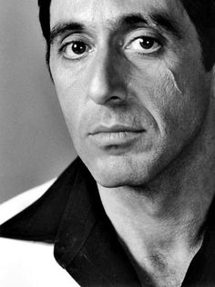Al Pacino as Tony Montana in Scarface Brian De Palma Al Pacino, Michelle Pfeiffer, Scarface Movie, Scarface Poster, Gangster Movies, British Academy Film Awards, Looks Black, Film Serie, The Godfather