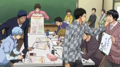 kuroko no basuke ending ile ilgili görsel sonucu Kuroko No Basket Characters, Desenhos Love, Anime Siblings, Generation Of Miracles, Gekkan Shoujo Nozaki Kun, Kuroko Tetsuya, Japanese Cartoon, Kuroko's Basketball, Anime Screenshots