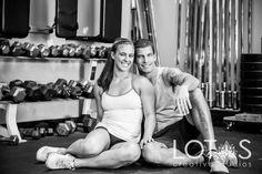 Engagement Photography #Engagement #Photography #Bull City CrossFit #Durham #NC
