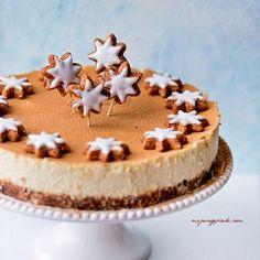 Sernik cynamonowy Food Cakes, Nutella, Tiramisu, Cake Decorating, Decorating Ideas, Cake Recipes, Cheesecake, Sweets, Baking