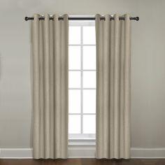 Veratex Gotham Ramie Linen Grommet Curtain Panel & Reviews | Wayfair