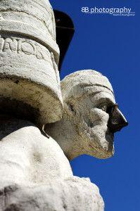 The petrified merchant Rioba #venice #legends #travel #europe #italy #statue #rioba
