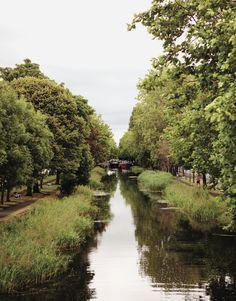 #Dublin's Grand Canal. #Ireland