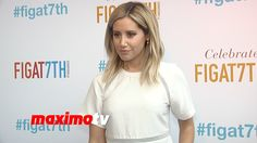 Ashley Tisdale | FIGat7th Grand Opening in Downtown LA | Blue Carpet