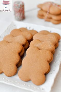 Xmas Food, Christmas Baking, Christmas Cookies, Christmas Recipes, Spice Cookies, No Bake Cookies, Polish Recipes, Gingerbread Cookies, Baking Recipes