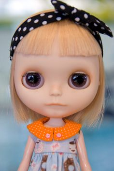 haircut- I want to get a factory blythe to custom with a simply mango scalp and get it cut like this