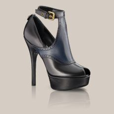 Une chaussure de louis vitton.