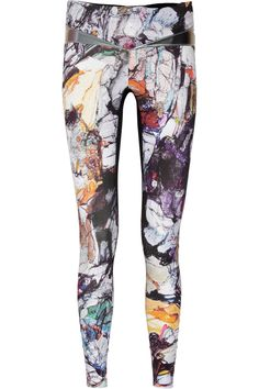 Lucas Hugh | Krypton printed stretch leggings | if these were not $200 i would buy em