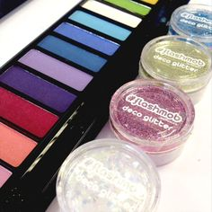#color #sombras #glitter #maquillaje #makeup #flashmob