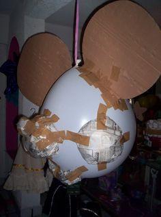 Piñata mickey y minnie | Aprender manualidades es facilisimo.com