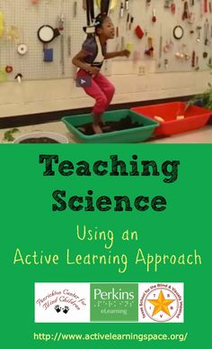 Use an Active Learning approach to teach science to learners with significant multiple disabilities.
