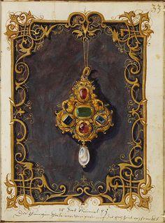Jewel Book of the Duchess Anna of Bavaria (1550s) o | Flickr: Intercambio de fotos