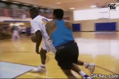 Basketball Dunk GIF - www.gifsec.com