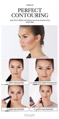Bring out your cheekbones, slim your nose, and sculpt your face subtly with this contouring technique.