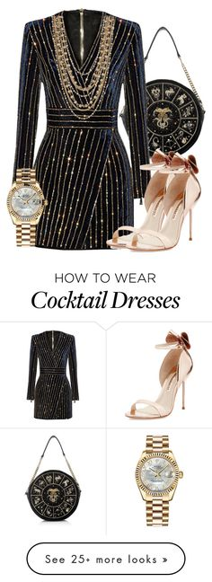 """Bling Bling!❤❤"" by amyamrita on Polyvore featuring Sophia Webster, Rolex and Madison Parker"