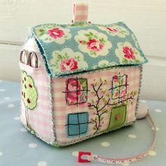 September House Pin Cushion  
