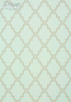 Another striking lattice design – this time with a rounded Rococo feel, Thibaut's Stanbury Trellis large-scale pattern provides a calming feel thanks to all that space in between the repeating interlinking shapes. Taken from the US brand's impressive Graphic Resource collection with its quirky motifs, illustrated cityscapes and selection of contemporary lattice designs.