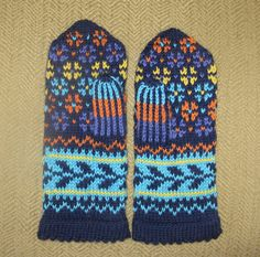 Ravelry: Grandma's Mittens (Archived) pattern by Anne Abrahamsen