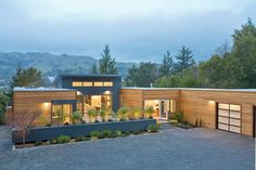 The Breezehouse, shown here, designed by architect Michelle Kaufmann and built by Blu Homes, is a supreme example of prefab construction