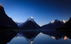 The Milford Sound — the South Island fjord called the eighth wonder of the world by Rudyard Kipling — NZ