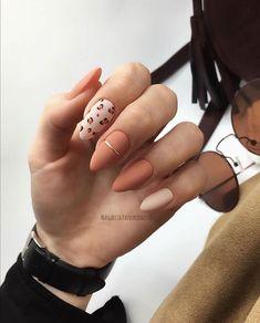 Pin by Megan Brennan on Holiday nails in 2020 Cute Acrylic Nails, Matte Nails, Almond Nails Designs, Nail Designs, Nail Manicure, Gel Nails, Semi Permanente, Uñas Fashion, Fire Nails