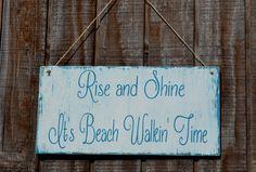 Beach Sign Beach Decor Coastal Decor Beach Wood Sign by CarovaBeachCrafts FB - carovabeachcrafts