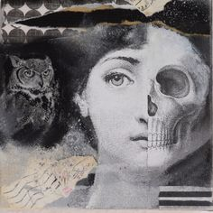 My new collage with details vom the designer Fornasetti
