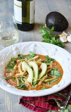 Vegan Tortilla Soup (Gluten-Free)