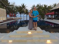 Royal Santrian Nusa Dua Bali... super cool, private villas with own pool, on the beach, fine dining, great staff...