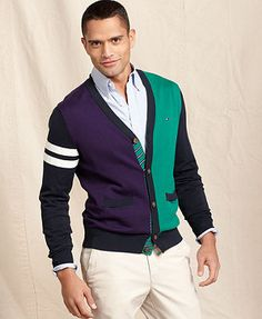 Tommy Hilfiger Sweater, Raleigh Colorblock Cardigan
