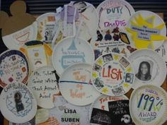 Paper Plate Awards - I am going to do this for my choir students this year, so I'm looking for ideas!