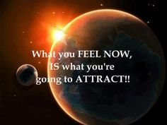 The law of attraction!!