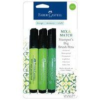 Stamper's Big Brush Pens | Faber-Castell