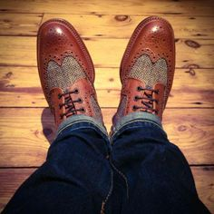 Harris Tweed shoes!